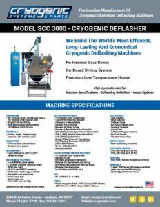 SCC 3000™ Technical Datasheet
